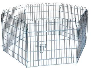Вольер манеж 6 секций с дверкой для собак и кошек высота 60 см