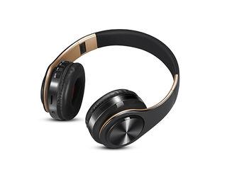 Bluetooth  беспроводные стереонаушники с микрофоном/TF карта Bluetooth + MP3, QCY.