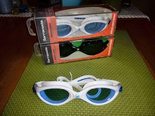 Очки и шапки для плавания от Barracuda, Speedo (USA).