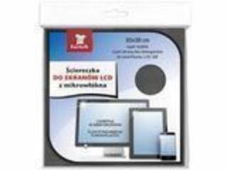 Черная салфетка из микроволокна для экранов LCD, LED/Servetele negru pentru ecran LED.LCD