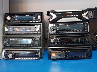 Pioneer deh-2320ub, pioneer, jvc kd-s777r, Alpine USB-80e.