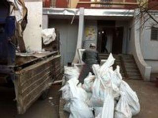 Вывоз строительного и бытового мусора, ненужных вещей хламa / подьем стройматериалов