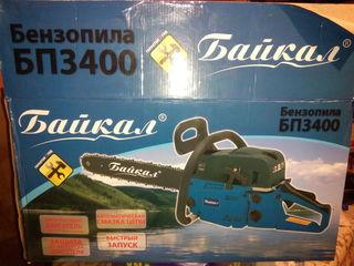 Бензопила Байкал БП-3400 новая