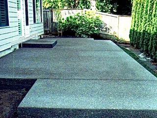 Lucrări de betonare.