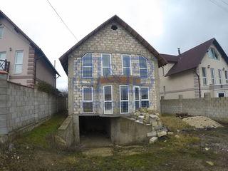 Colonita-Tohatin. Casa in 2 nivele nefinisata, suprafata de 160m2