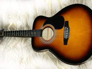 Chitara acustica (rock, folk) =1165 mdl (noua!) (schimb tot) новая гитара!