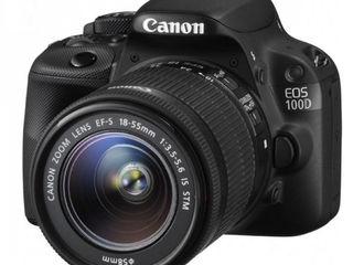 Canon 100D 18-55mm STM.