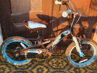 Bicicleta din aluminum de la 3 la 7 ani. 1200 lei