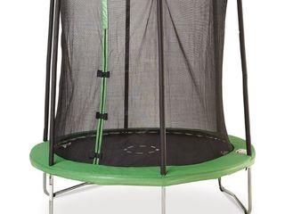 Trambulina de gradina sportspower, 244 x 242 cm, verde