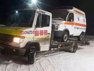 Servicii evacuare auto Chisinau 24/7.