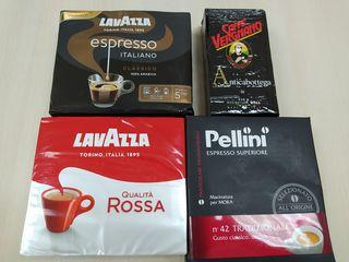 Publicitate cafea lavazza , pellini , vergnano , ulei, ton , parmigiano