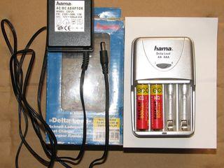Продам немецкую зарядку Hama и Sony BC-CSGD
