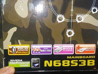 N68S3B  DDR-3 сокет Am3,встроенная видео карта