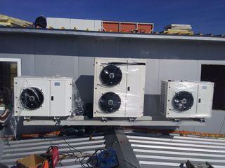 Curatarea/alimentarea/montarea  aparatului de aer conditionat