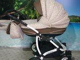 Красивая почти новая колясочка 2 в 1avalon alu