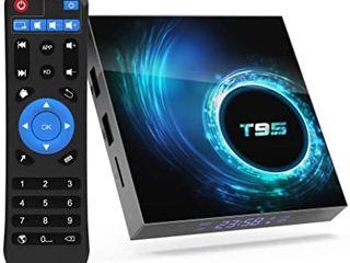 ТВ-приставка TV box T95 - почти новая, мало использовалась