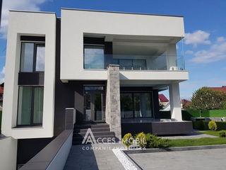 Casă în 3 nivele! Durlești, str. N. Dimo, 300m2 + 7 ari. Euroreparație + Design!