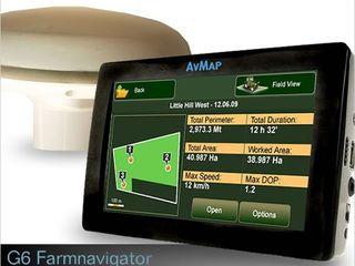 Farmnavigator AvMap Geosat 6 + Antena externa