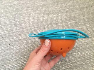 Удивительная тарелка непроливайка-нерассыпайка!