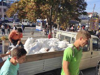 Evacuarea gunoiului din apartam, Transport si Hamali