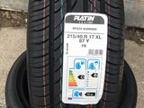 215/40 R17 Platin Rp420 (Germany) / Доставка , livrare