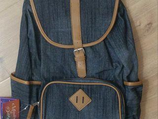 Новый джинсовый рюкзак