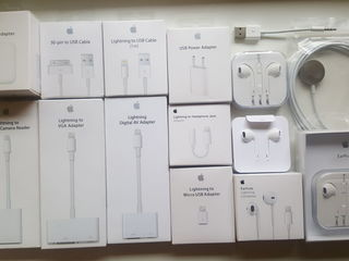 Iphone incarcator charger lightning to usb cable original apple earpods