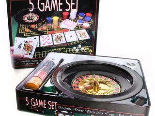 Игровой набор казино 5 в 1