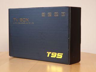 TV box T95 MAX / Android 10 16/32/64GB /  6K Ultra HD /Гарантия 12 мес/ Беспл. доставка по Молдове