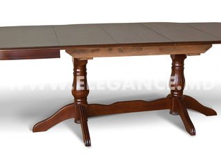 Mese si scaune lemn natural noi. Centrul de mobila Elegance