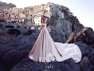 Продам дизайнерское свадебное платье Viola от Tesoro Bridal