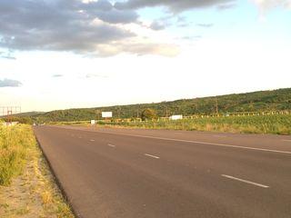 Teren 1ha la traseu R1 Chisinau-Ungheni, Cojusna, Straseni // вдоль трассы