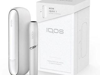 """Iqos - 3-го поколения  """"3.0""""   цвет белый. цена 1100 лей."""