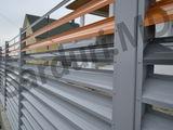 Забор жалюзийный металлический  !!! garduri.md
