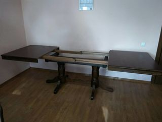 Раздвижной стол! Дубовый! Новый! Распродажа! Цена - от 2600 лей! Продажа в кредит!