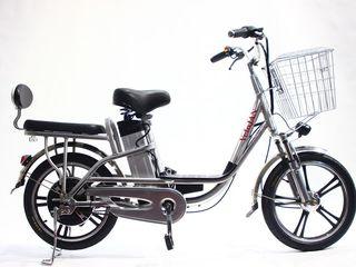 Bicicleta electrica 350w cu portbagaj moale livrare gratuita.