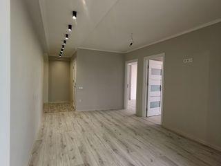 2 odai + living 64 m2 Buiucani. Dat in exploatare. in credit fara venit oficial