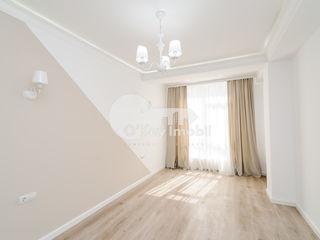 Zonă de parc! 2 camere+salon, reparație euro, 73 mp, mobilat, Melestiu 69900 €