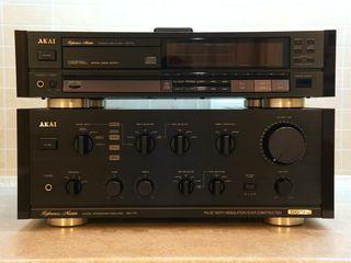 Akai Reference Master AM-75; CD-73.
