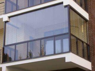 Безрамное остекление балконов. Geamuri glisante.