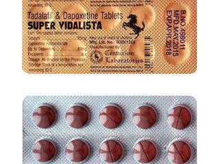 Super Vidalista - для сильной эрекции и преждевременной эякуляций!