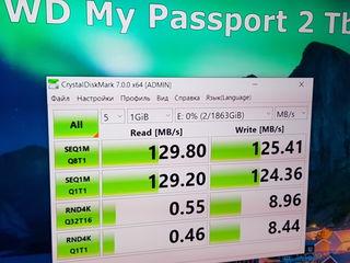 Vind WD MyPassport 2Tb la cel mai mic pret in md.