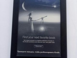 Электронная книга Kindle Paperwhite. Состояние отличное, чехол.