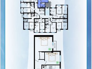 Apartament cu 2 odăi separate/ 65m2/ durlești - buiucani/ bloc nou