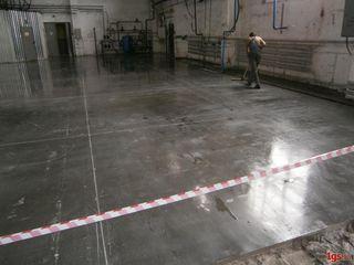 Изготовление промышленных полов - Turnăm podea industrială
