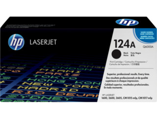HP 124A black original LaserJet Toner Cartridge (Q6000A). New!!          Ieftin!!