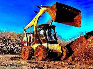 Servicii  bobcat + kamaz + buldoexcavator, Demolare si evacuare.