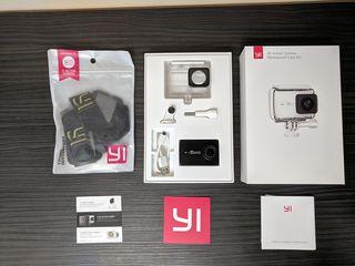 Xiaomi YI 4K Action Camera Waterproof Case Kit + Подарок (идеальное состояние)