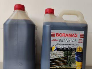 Пластификатор и фибра (полипропиленовая) для бетона Boramax Польша