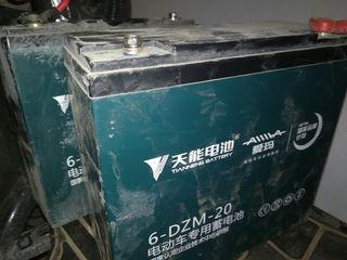 6 acumulatoare 12V 20A Электроскутер electroscuter  electroscooter electro scuter